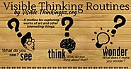 Visible Thinking Routines for Blogging