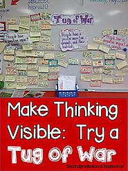 Secondgradealicious: How About a Tug of War? Making Thinking Visible