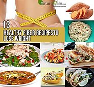 13 Healthy Fiber Recipes to Lose Weight - Healthy Fiber Recipes For Weight Loss!