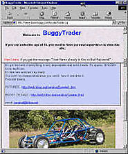 Buying a Buggy