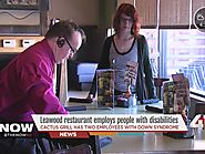Leawood restaurant Cactus Grill employs workers with Down syndrome
