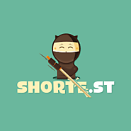 Earn money on short links. Make short links and earn the biggest money - Shorte.st links