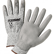 PosiGrip Touch Screen Gray Palm-Coated Cut Resistant Gloves - Bulk