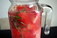 Strawberry Infused Vitamin Water