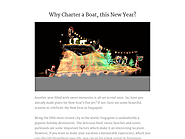 Why Charter a Boat, this New Year?