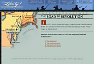 LIBERTY! . Road to Revolution Game