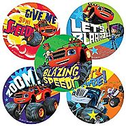 Blaze and the Monster Machines Stickers - Birthday and Theme Party Favors - 75 per Pack