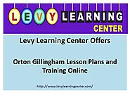 Orton Gillingham Lesson Plans And Training Online