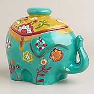 Cute Elephant Cookie Jars - Cool Kitchen Things