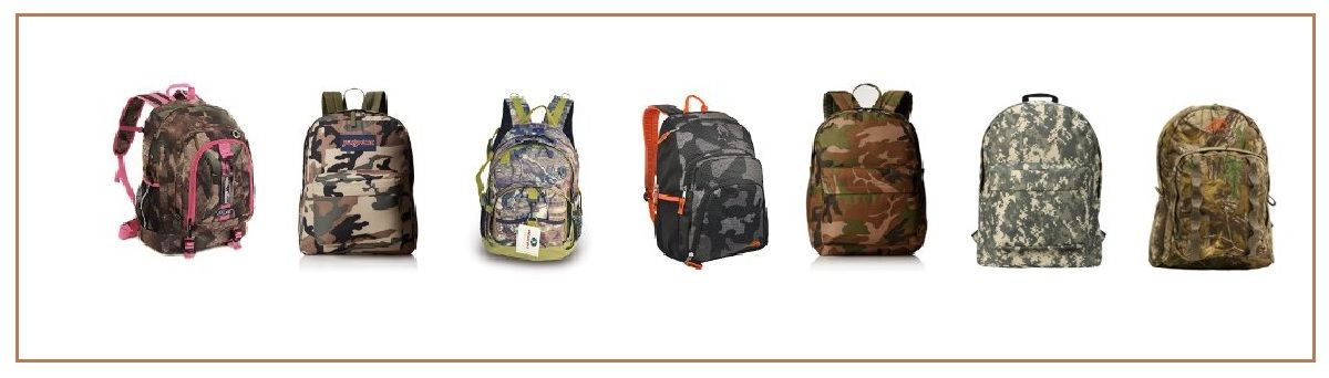 Headline for Best Camo Backpacks for School - Affordable and Stylish