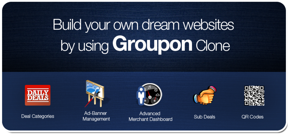 Headline for Groupon Clone script