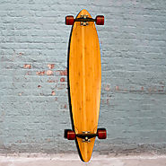 Bamboo - Pintail Longboard Blank - 44 inch from Bamboo Longboards - Complete