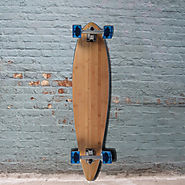 "Bamboo Pintail Longboard - 39"" x 9"" - Complete"