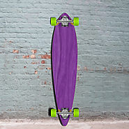 Best Purple Pintail Longboard 40 inch from Punked - Complete