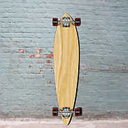 Cheap Blank Pintail Longboard 40 inch from Punked - Complete