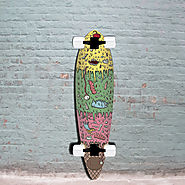 Ice Cream - Blunt Nose Pintail Longboard Skateboard - Stella Complete