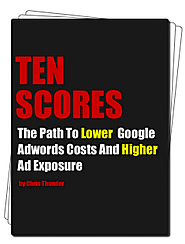 Tenscores Blog - Lessons learned losing and making money with Adwords and PPC