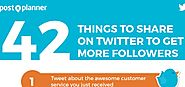 Twitter Content Ideas: 42 Things to Tweet About to Keep Followers Engaged [Infographic] | Social Media Today