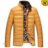 CWMALLS® Down Jackets with Fur Collar CW846053