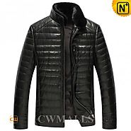 CWMALLS® Mens Black Down Jacket CW846025