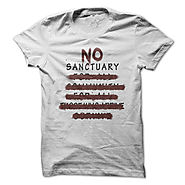 NO SANCTUARY - The Walking Dead Fan Tee