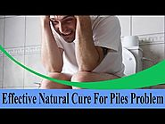 Effective Natural Cure For Piles Problem
