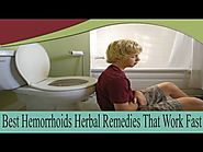 Best Hemorrhoids Herbal Remedies That Work Fast