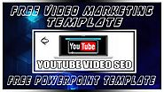 Free Video Marketing Template PowerPoint
