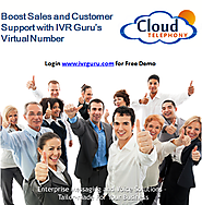 Virtual Phone Number, Virtual Mobile Number, PBX System | IVR Guru