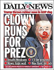 Abbreviated Pundit Round-up: Is Donald Trump a clown, a loser, or a brilliant satirist?