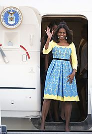 [6/18/15] Michelle's great British styleover: How Mrs Obama embraced the hottest English designers for her trip to Lo...