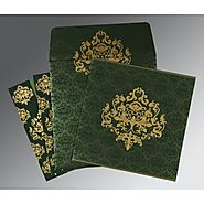 Personalzed Islamic Wedding Cards : | Card Code : (I-8254D) |