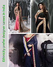 Why Women/Girl Find Designer Sarees As Most Glamorous Outfit?