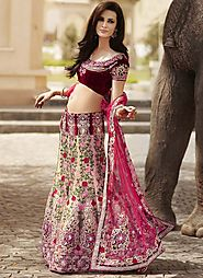 Embroidery Lehenga Choli Set - One Of The Outstanding Designs From The List