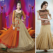 How Partyware Anarkali Suits In India Are Raising The Trend Once Again?