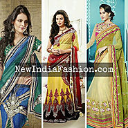 Designer Embroidery Lehenga Choli Set To Latest Trend!