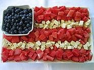 Patriotic Watermelon & Feta Flag - Wenderly