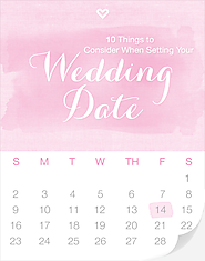 10 Things to Consider When Setting Your Wedding Date