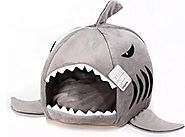 Grey Shark Bed for Kitty