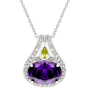 Amatyzt | Purple Brilliance Pendant