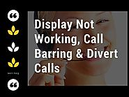 Fix #Sky_Phone_Issues – #Display_Not_Working, #Sky_talk_Call_Barring & #Divert_Calls