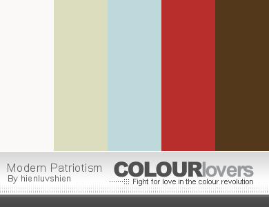 Headline for Fourth of July Color Schemes
