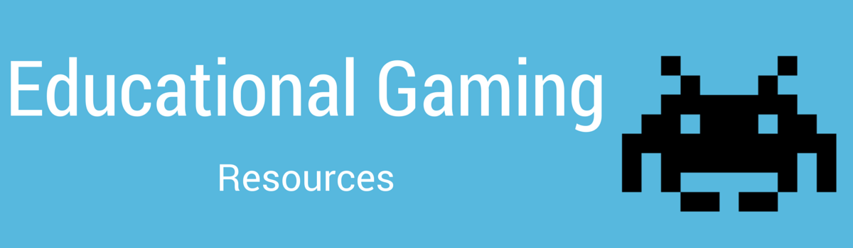 Headline for Educational Gaming Resources