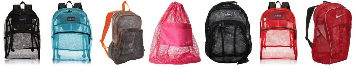 Headline for Cool Mesh Backpacks for School - Great for Girls or Boys