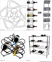 Great Metal Wine Racks for Entertaining