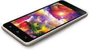 Intex Aqua Sense 5.0 Phablet with QHD Big Screen
