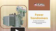 Running Business Of Power Transformers In India?