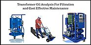 On Line Transformer Oil Analysis For Filtration