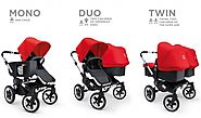 The Bugaboo Donkey - $1,250 available via Amazon Prime
