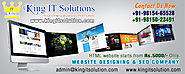 website designing, website development, website promotion, google seo, domain registration, server hosting company in...